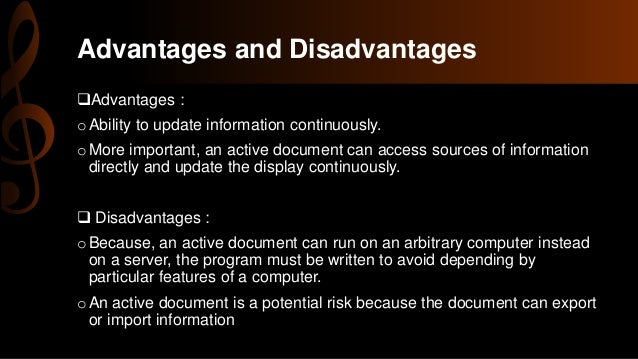 advantages and disadvantages of a web The advantages and disadvantages that come with internet marketing.