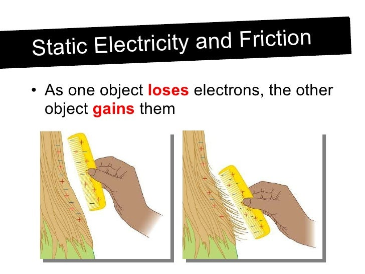 how to produce static electricity