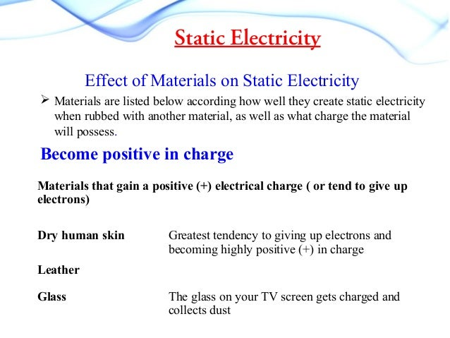 Static Electricity Tv Experiment