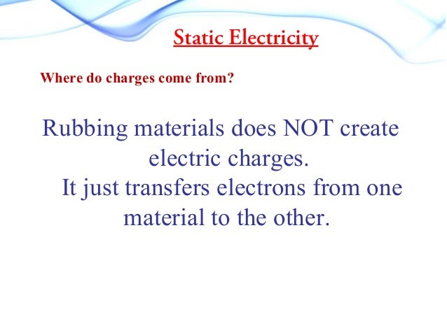76 static electricity charges vacuum cleaner that a