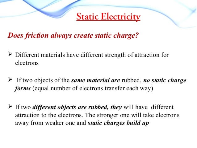Static Electricity Discharge Current