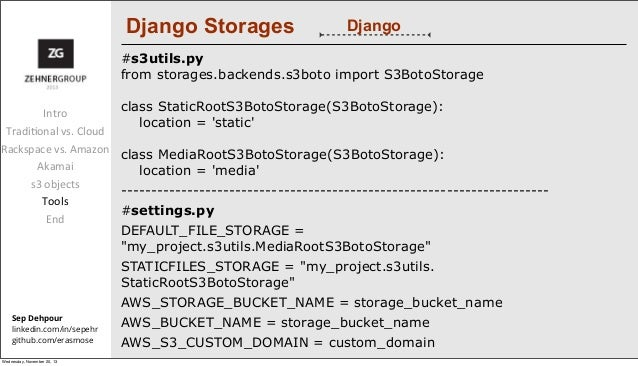 Rackspace & Akamai vs  Amazon & CloudFront for a Django site