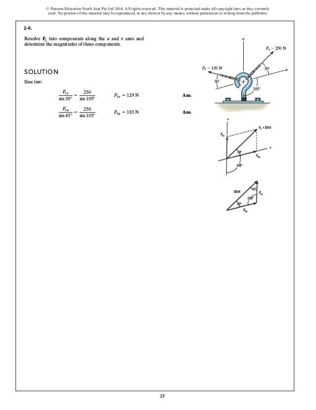 Statics Mechanics of Materials 4th Edition Hibbeler