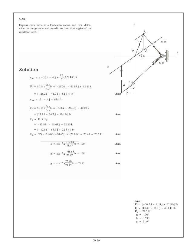 Statics And Mechanics Of Materials 5th Edition Hibbeler Solutions Man