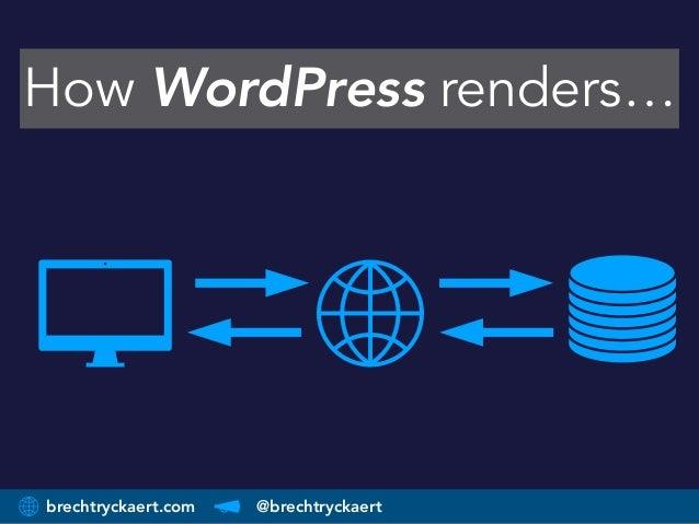 brechtryckaert.com @brechtryckaert How WordPress renders…