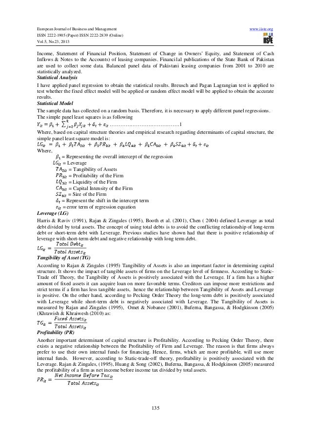 pecking trade off theory Ebook pecking order theory, trade-off theory and determinants of capital structure: empirical evidence from jordan.
