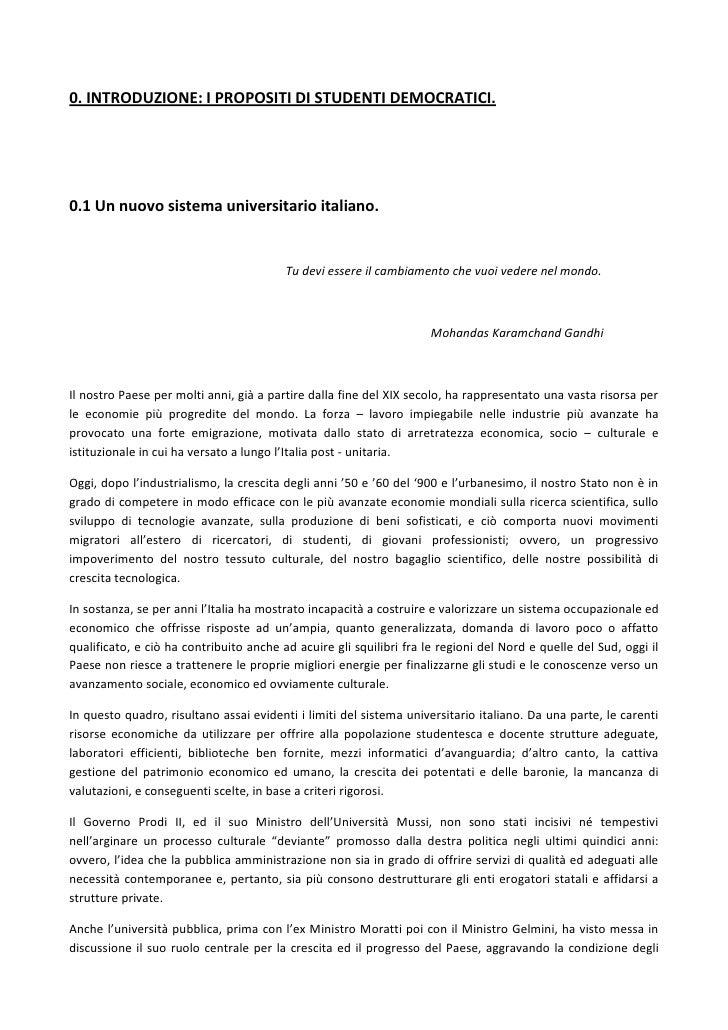 Stati Generali dell'Università - Studenti Democratici Roma