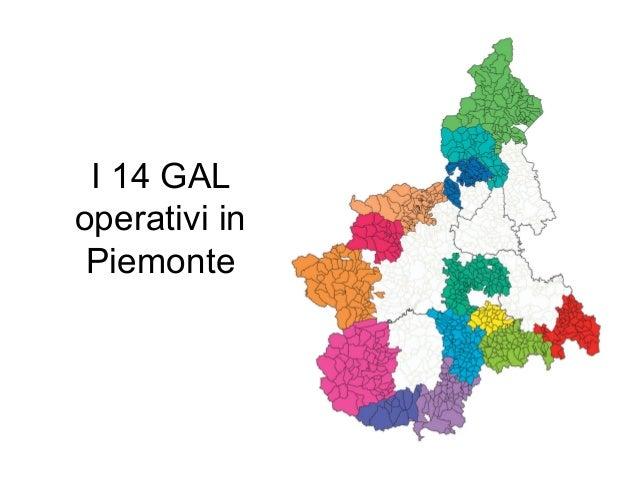 I 14 GAL operativi in Piemonte