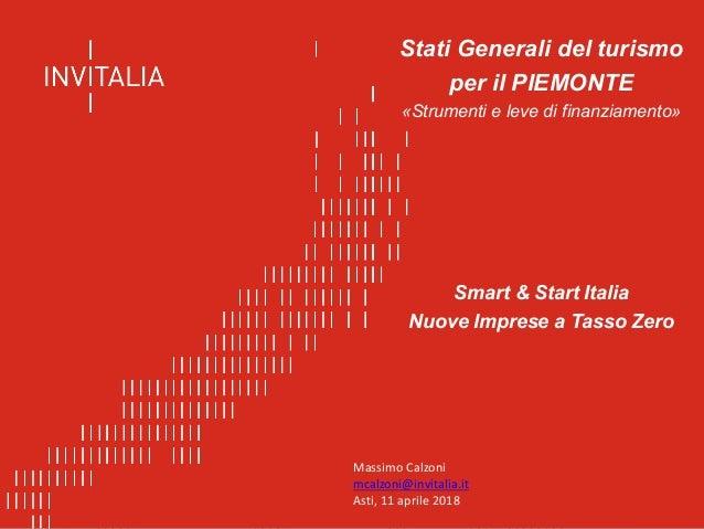 Agenzia nazionale per l'attrazione degli investimenti e lo sviluppo d'impresa SpA Stati Generali del turismo per il PIEMON...