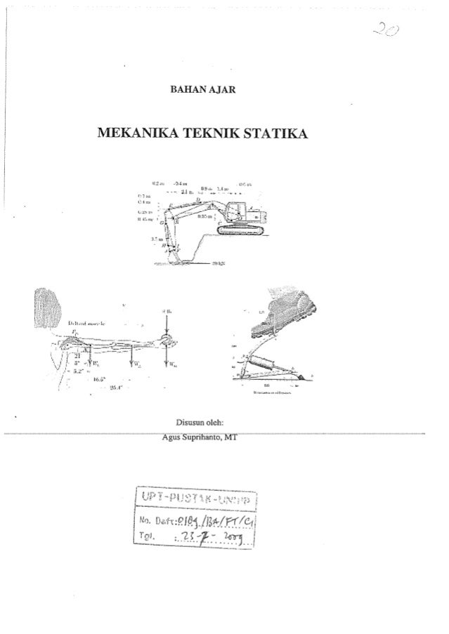 Statika mekanika 1