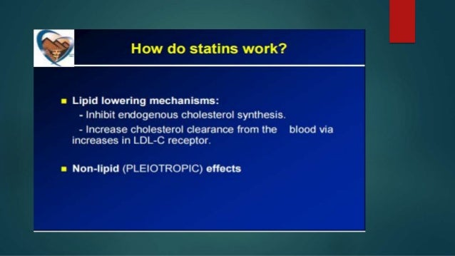 Who will be prescribed for Statin?  Guidelines by the American College of Cardiology and the American Heart Association r...