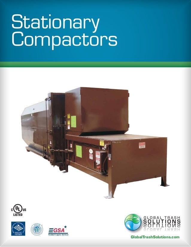 Stationary StationaryCompactors  PR SM   ®              Federal Supply Service                                       Globa...