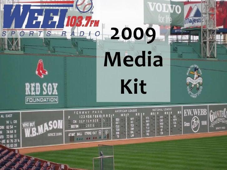 2009 Media  Kit