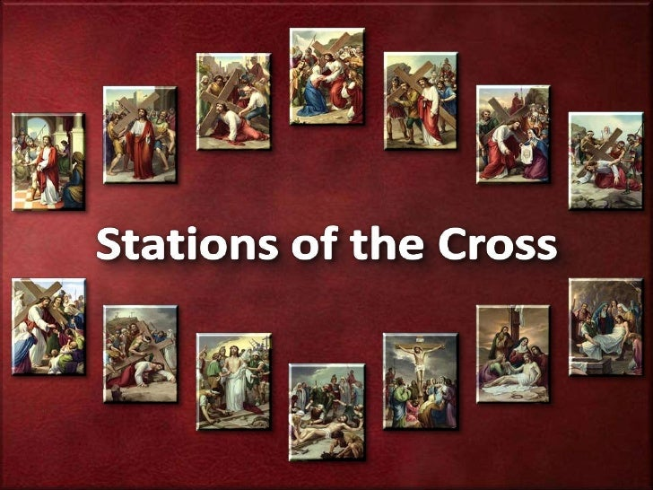 DURING THE STATIONS OF THE CROSS CONTEMPLATION, TRY TO PAUSE AND REFLECT ON YOUR LIFE.<br />