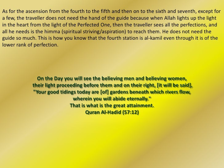The Third Station                             (Nafs al Mulhimah)                           Inspired SelfQuran Ref:And a So...