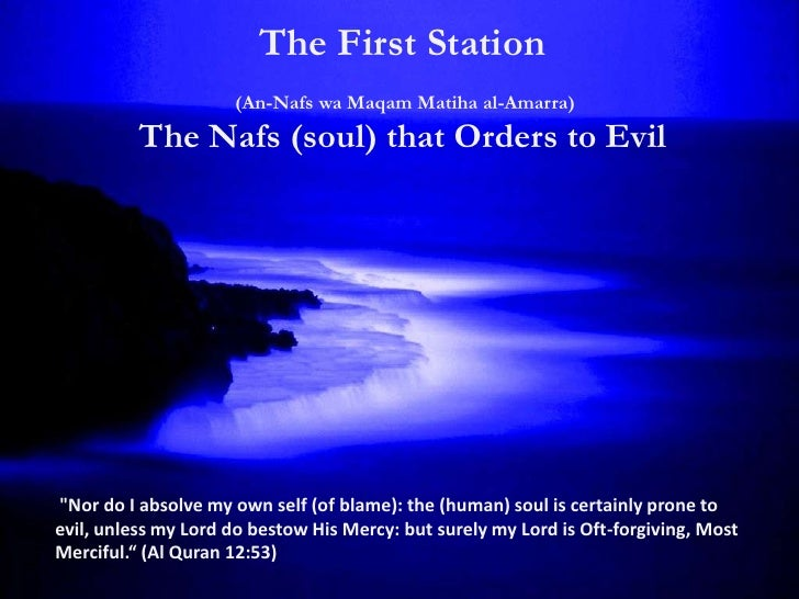 The First StationTraits:     narcissistic, mechanical, conditioned,            non-reflective, impulsive.Habits:     pride...