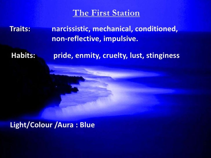 The First Station      Soul: Mineral Soul (Ruh Madeni)    Located: The Human Skeletal System         As-sadr –The Breast/C...