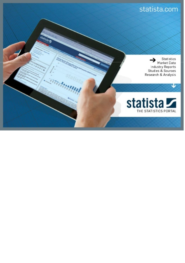 STATISTA for all practical matters.