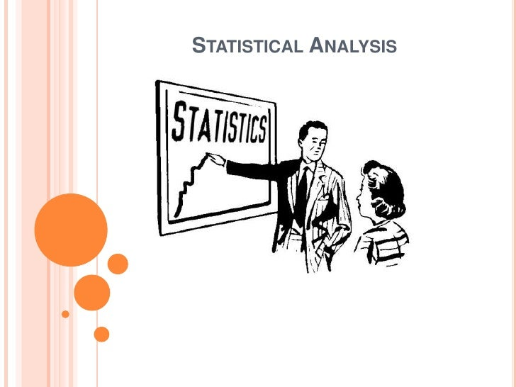 Statistical Analysis<br />