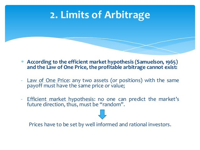 Statistical arbitrage trading strategies