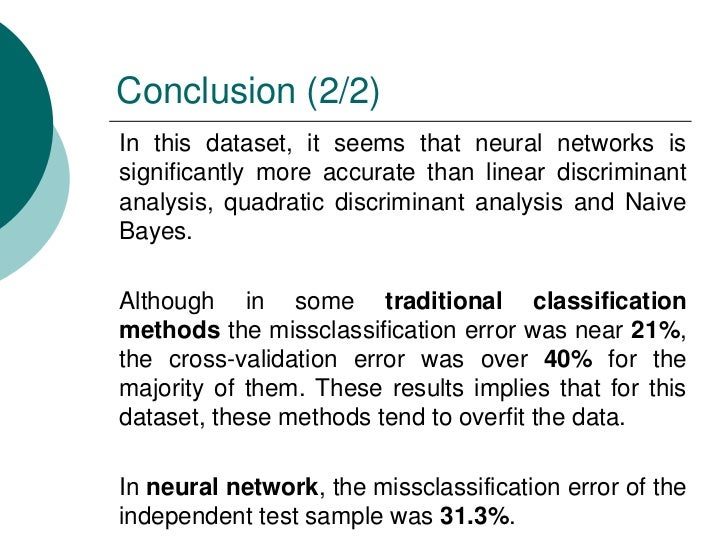a review of classification methods for Supervised machine learning: a review of classification techniques  researchers have a number of methods to choose from to handle missing data (batista & monard .