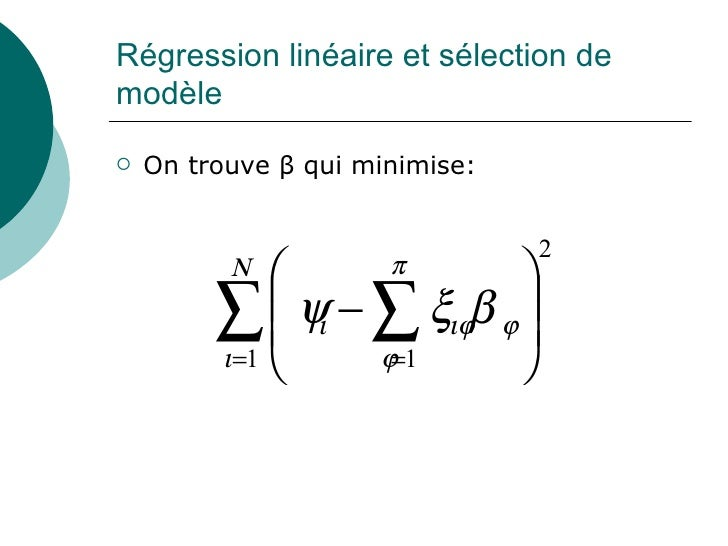 apprentissage automatique  r u00e9gression ridge et lasso