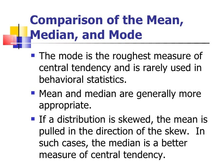 difference between mean median and mode pdf
