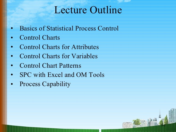 statistical process control ppt doms