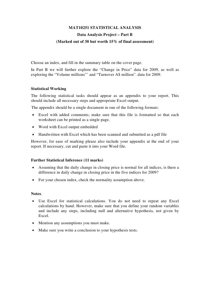 statistical projects Statistics project i have been given instructions to collect data for my gcse statistics coursework and then to represent them by interpreting them using.