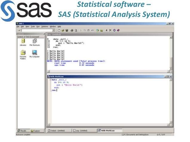 Statistical Analysis System : Summarizing Data Essay