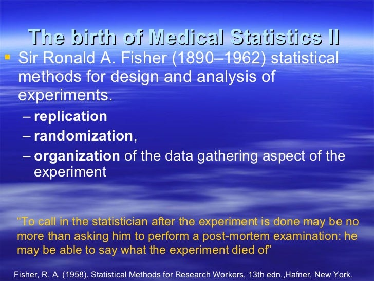 statistical methods for research workers by r a fisher pdf