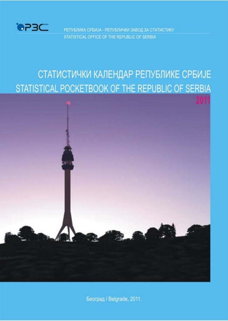 РЕПУБЛИКА СРБИЈА - РЕПУБЛИЧКИ ЗАВОД ЗА СТАТИСТИКУSTATISTICAL OFFICE OF THE REPUBLIC OF SERBIA                             ...