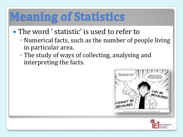 introduction of statistics Statistics for engineers 4-1 4 introduction to statistics descriptive statistics types of data a variate or random variable is a quantity or.