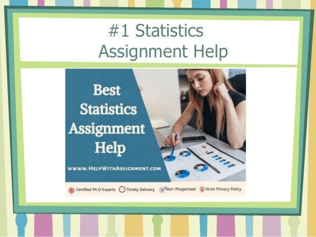 #1 Statistics Assignment Help