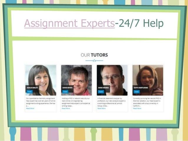 Assignment Experts-24/7 Help