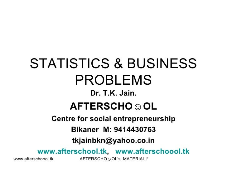 Theoretical Distributions In Business Statistics 15 October