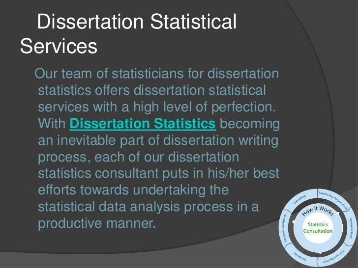Dissertation Statistics Help | Statistical Consulting Services