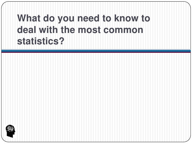 how not to lie with statistics