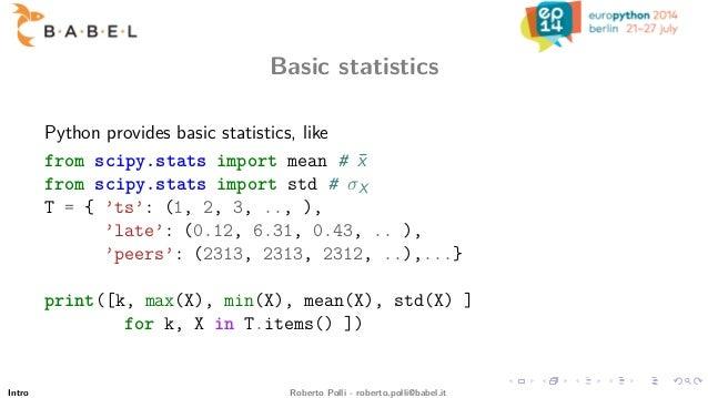 Statistics 101 for System Administrators