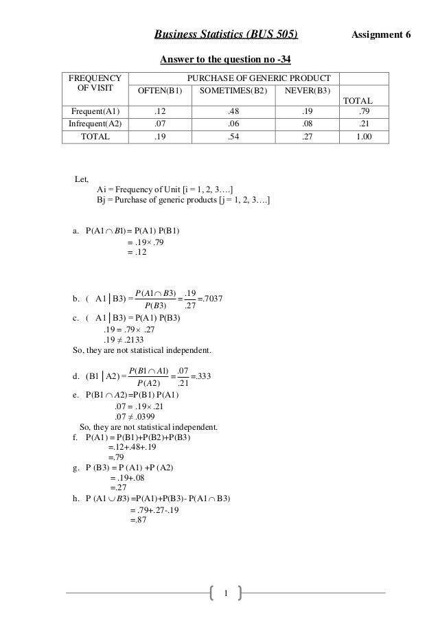 Statistics assignment examples essay on adoption