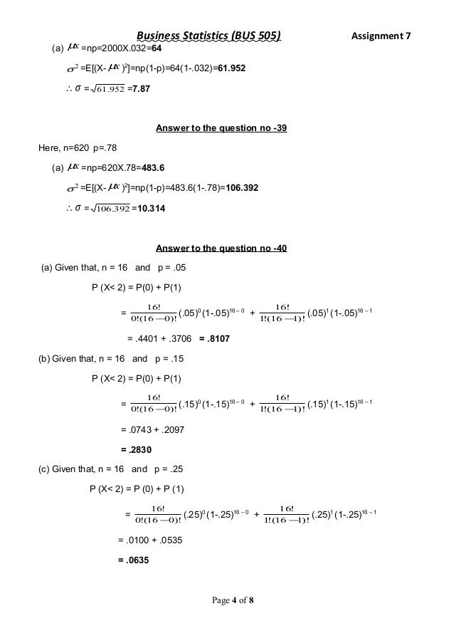 assignment4 statistics Announcements 1 math/stats lab (s525 ross) starts may 28 until july 6, mt 4-6  pm: check  assignment 4 is due on tuesday, june 26/18 6 the final exam.