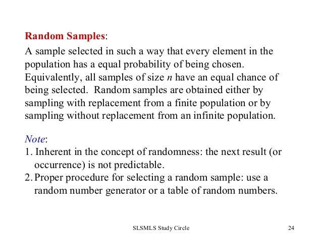 Statistics basics by slsmls