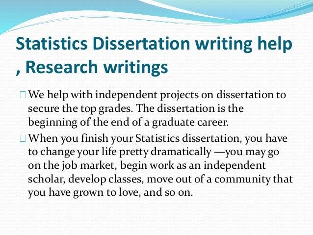 Dissertation Statistics Service