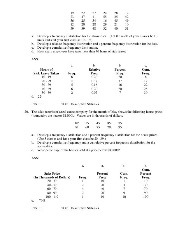 Statistics for business and economics 12th edition anderson test bank 24 fandeluxe Images