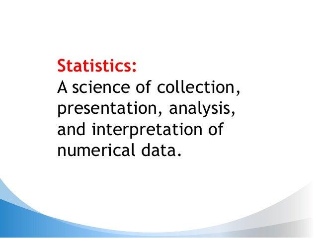 Statistics for non statisticians Slide 2