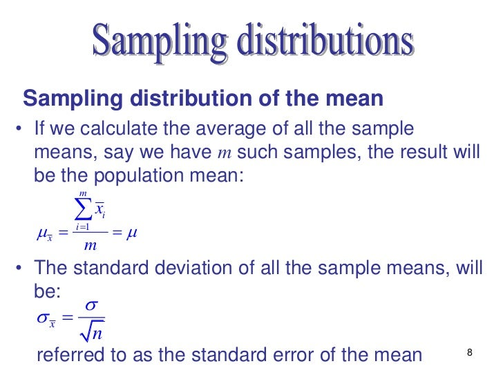 Statistics lecture 7 (ch6)