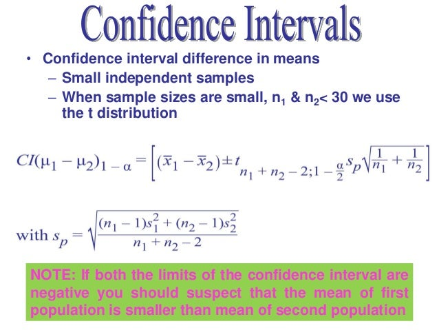 Statistics lecture 8 chapter 7 for T table 99 confidence interval