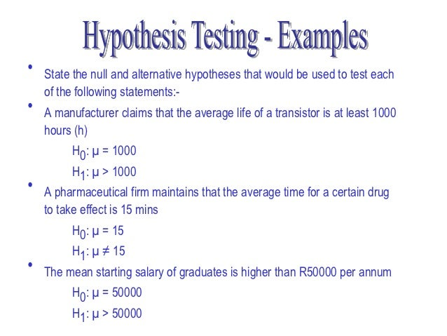 7 chapter hypothesis testing with one sample ppt video online.