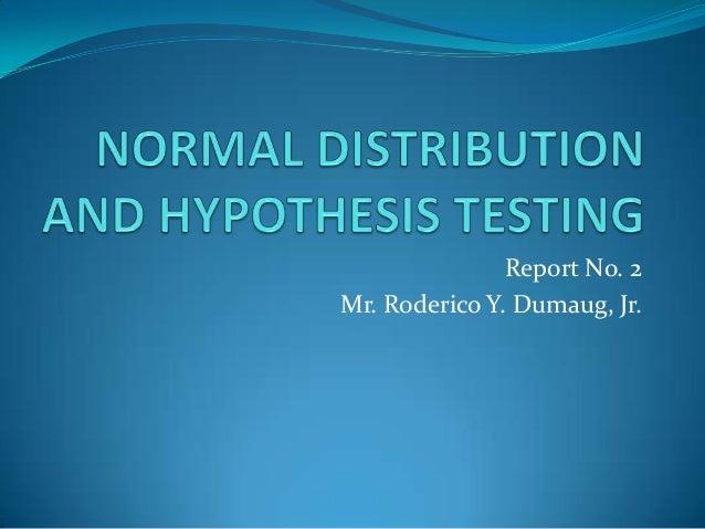 Report No. 2Mr. Roderico Y. Dumaug, Jr.