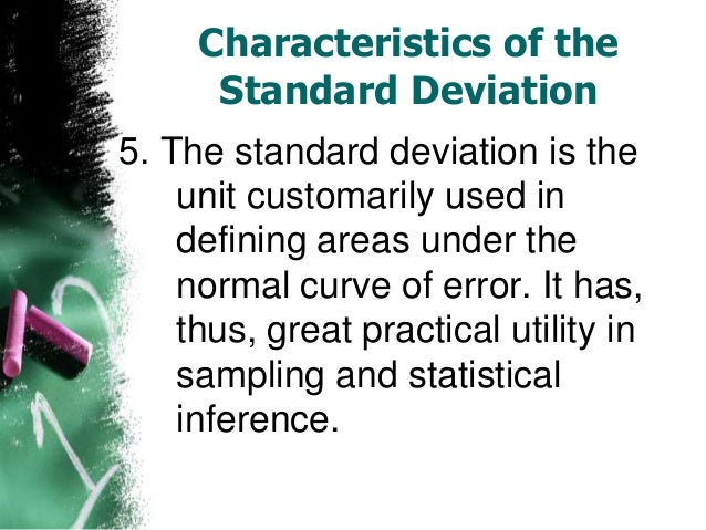 an overview of the determination of the standard deviation